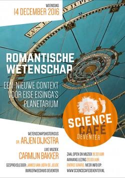 Romantische wetenschap: Een nieuwe context voor Eise Eisinga's planetarium
