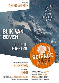 Blik van boven: Nederland in de ruimte