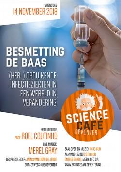 Besmetting de baas: (her-)opduikende infectieziekten in een wereld in verandering