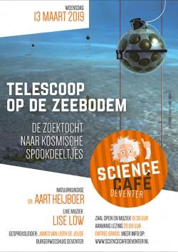 Telescoop op de zeebodem: De zoektocht naar kosmische spookdeeltjes