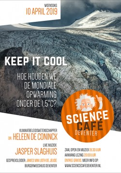 Keep it cool: hoe houden we de mondiale opwarming onder de 1,5 graden Celsius?