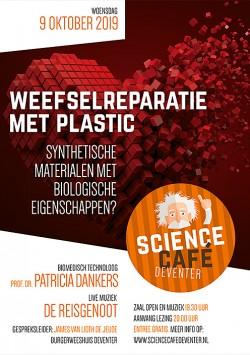 Weefselreparatie met plastic: synthetische materialen met biologische eigenschappen?