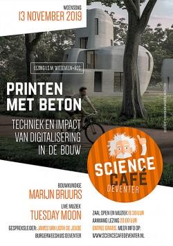 Printen met beton: techniek en impact van digitalisering in de bouw